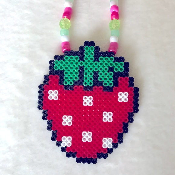Juicy Strawberry 🍓 Kawaii EDM Rave Kandi